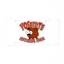 Yosemite Little Bear Aluminum License Plate