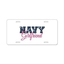 Cool Navy captain Aluminum License Plate