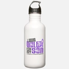 I Wear Violet 6 Hodgkin's Lymphoma Water Bottle