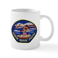 Cannon Beach Police Mug