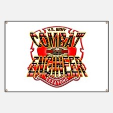 U.S. Army Combat-Engineer Cre Banner