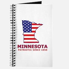 MN USA Flag Map 2 Journal