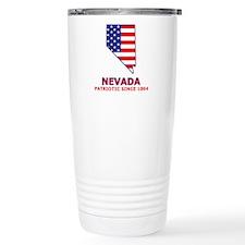 NV USA Flag Map 2 Travel Mug