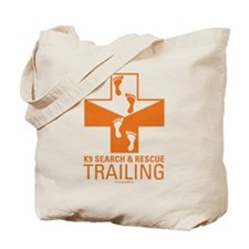 Trailing Crosses Tote Bag
