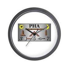 PHA Working Tools Wall Clock