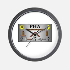 PHA Working Tools Wall Clock