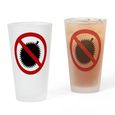 NO Durian Thai Sign Drinking Glass