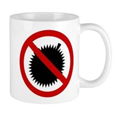 NO Durian Thai Sign Small Mug