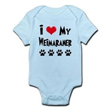 Weimaraner Infant Bodysuit