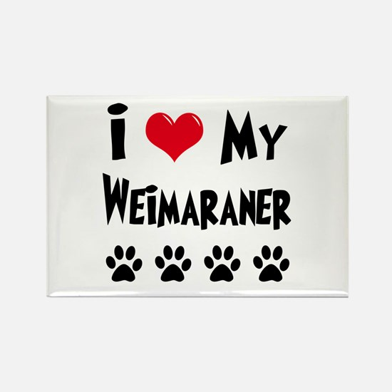 Weimaraner Rectangle Magnet