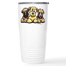 Wheaten Terrier Cartoon Travel Mug