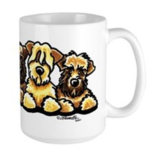 Wheaten Terrier Cartoon Mug