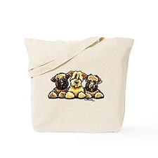 Wheaten Terrier Cartoon Tote Bag