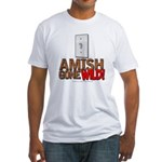 Amish Gone Wild Fitted T-Shirt