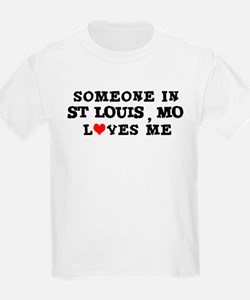 Someone in St. Louis Kids T-Shirt