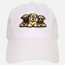 Wheaten Terrier Cartoon Baseball Baseball Cap