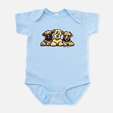 Wheaten Terrier Cartoon Infant Bodysuit