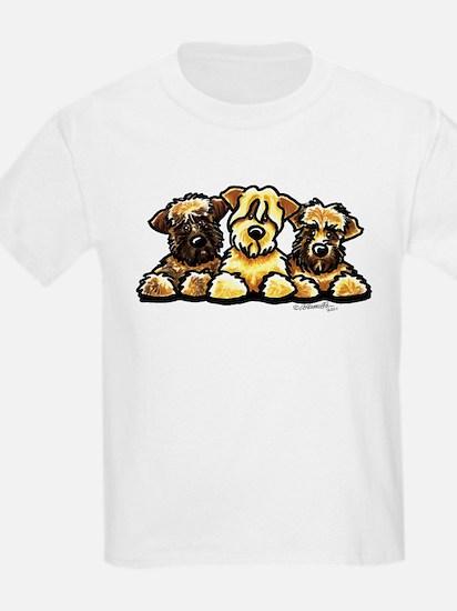 Wheaten Terrier Cartoon T-Shirt