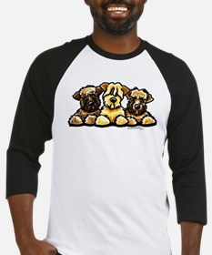 Wheaten Terrier Cartoon Baseball Jersey