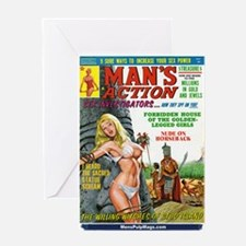 MAN'S ACTION, June 1969 Greeting Card