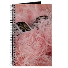 Fuzzy Pink Yarn Journal