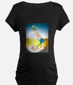 Roller Derby Girl Pin-up T-Shirt