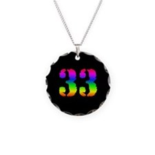 33 Rainbow Necklace