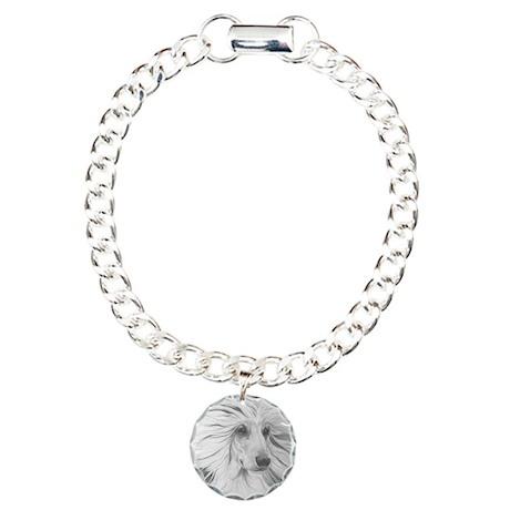 Yentle Afghan Charm Bracelet, One Charm