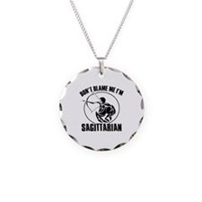 Don't blame me I'm Sagittarian Necklace