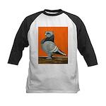 Blue Blondinette Pigeon Kids Baseball Jersey