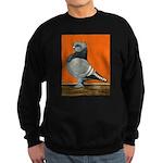 Blue Blondinette Pigeon Sweatshirt (dark)