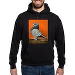 Blue Blondinette Pigeon Hoodie (dark)