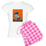 Blue Blondinette Pigeon Women's Light Pajamas