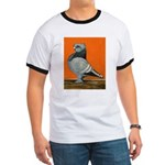 Blue Blondinette Pigeon Ringer T