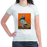 Blue Blondinette Pigeon Jr. Ringer T-Shirt
