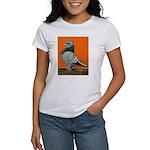 Blue Blondinette Pigeon Women's T-Shirt