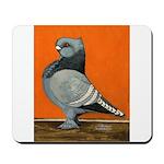 Blue Blondinette Pigeon Mousepad