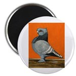 "Blue Blondinette Pigeon 2.25"" Magnet (10 pack"
