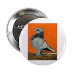 "Blue Blondinette Pigeon 2.25"" Button (10 pack"