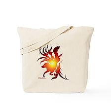 Tribal Art Border Collie Tote Bag