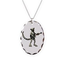 Lemur Guitar Necklace