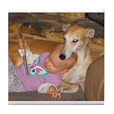 Tile Coaster - Greyhound