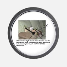 Wall Clock - Greyhound
