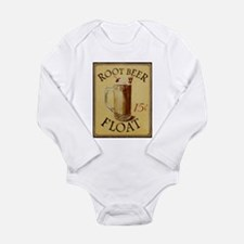 Vanilla Shake Long Sleeve Infant Bodysuit
