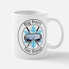 Big Horn - Ten Sleep - Wyoming Mugs
