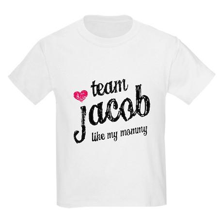 Team Jacob Mommy Kids Light T-Shirt