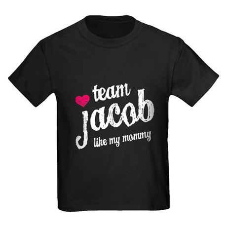 Team Jacob Mommy Kids Dark T-Shirt