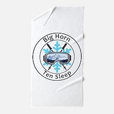 Big Horn - Ten Sleep - Wyoming Beach Towel