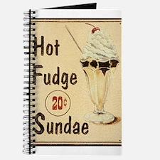 Hot Fudge Sundae Journal