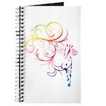 Rainbow Horse Flourish Journal